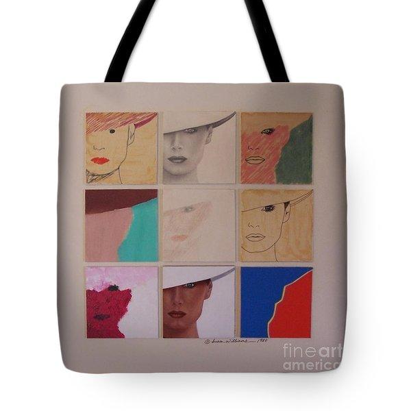 Nine Ladies Lolling Tote Bag