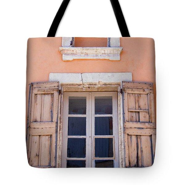 Nine Panes Minus One Tote Bag by Bob Phillips