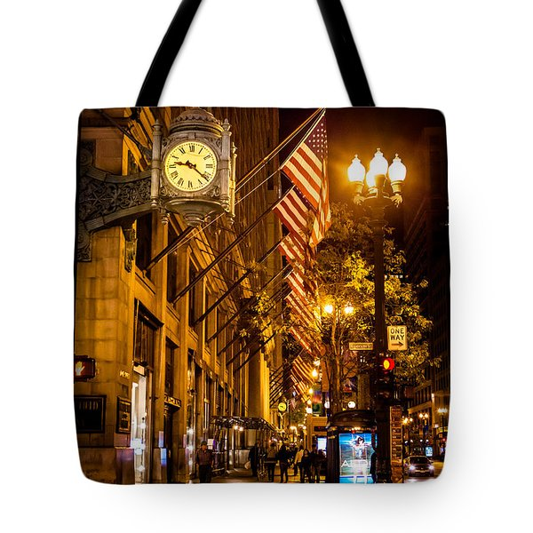 Nine Twenty Two In Chicago And All Is Well Tote Bag