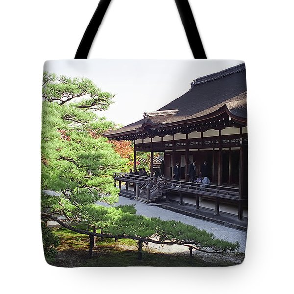 Ninna-ji Temple Garden - Kyoto Japan Tote Bag