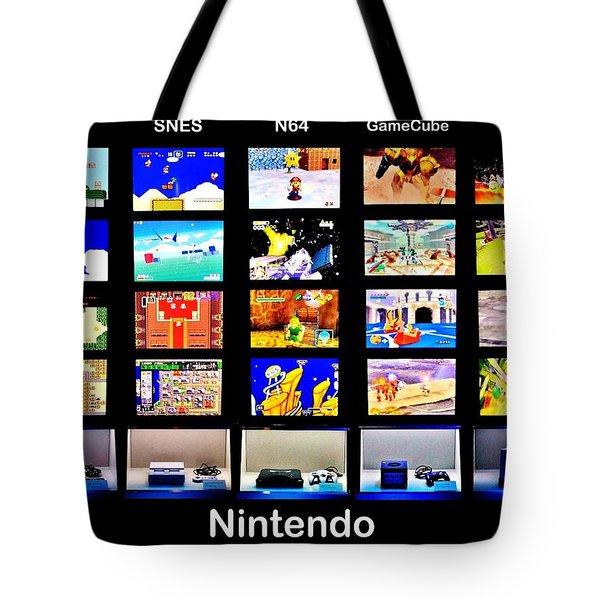 Nintendo History Tote Bag by Benjamin Yeager