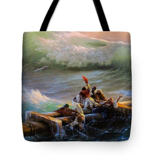Ninth Wave Fragment  Tote Bag