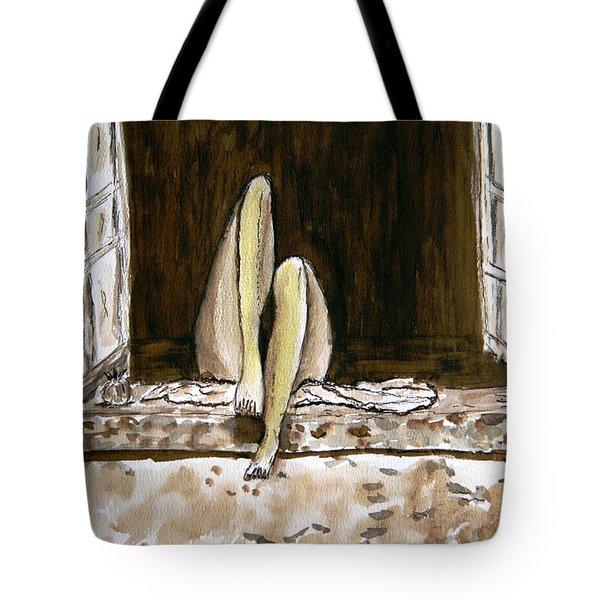 Nirvana. Tote Bag by Shlomo Zangilevitch