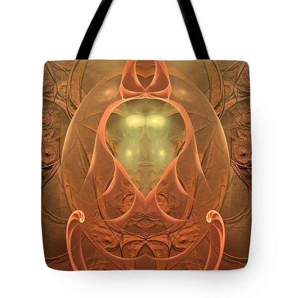 Tote Bag featuring the digital art Nirvana by Sipo Liimatainen