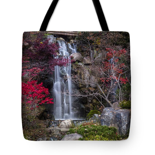 Tote Bag featuring the photograph Nishi No Taki by Sebastian Musial
