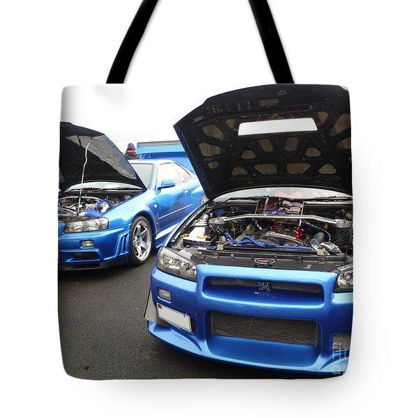 Nissan Skylines Tote Bag