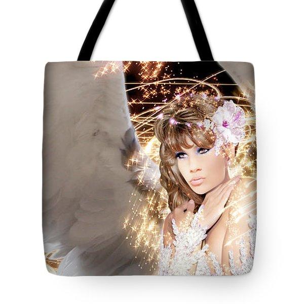 Nissrine An Angels Radiance Tote Bag