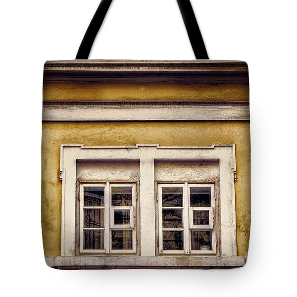 Nitty Gritty Window Tote Bag by Joan Carroll