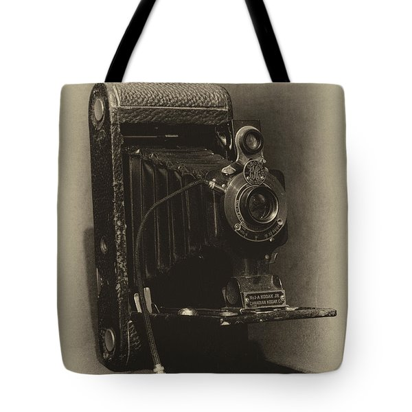 No. 1-a Kodak Jr. Tote Bag by Leah Palmer