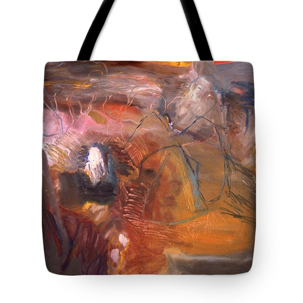 No 3 In A Series Of Human Landscapes Tote Bag
