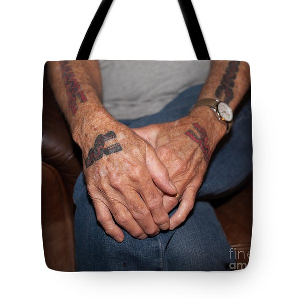 Tote Bag featuring the photograph No Age Limit by Roselynne Broussard