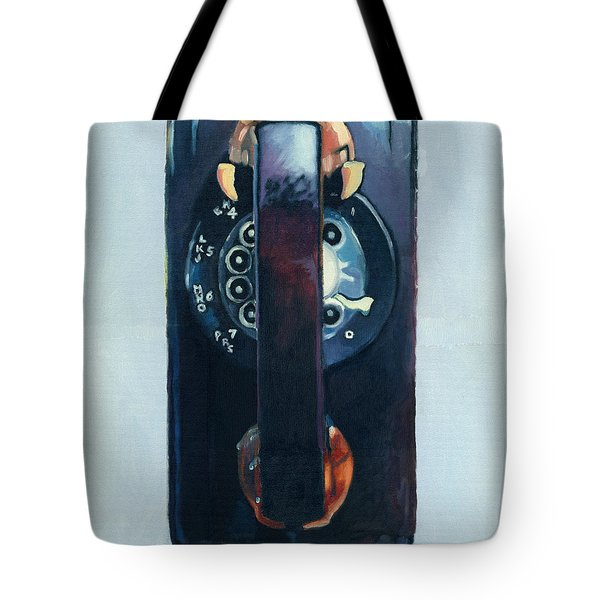 No Answer Tote Bag by Katherine Miller
