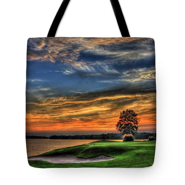No Better Day Golf Landscape Art Tote Bag