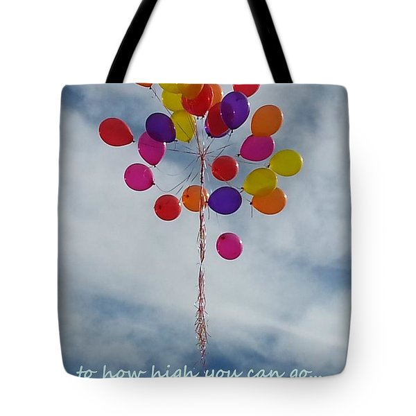 No Boundaries Tote Bag by Emmy Marie Vickers