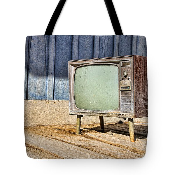 No Channel Surfing - Tv By Diana Sainz Tote Bag
