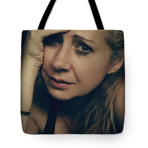 No Easy Decisions Tote Bag by Laurie Search