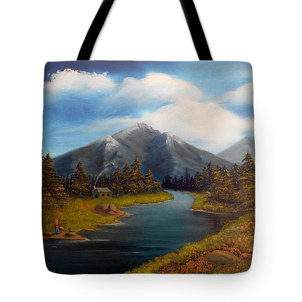 No Electronics Here Tote Bag by Sheri Keith
