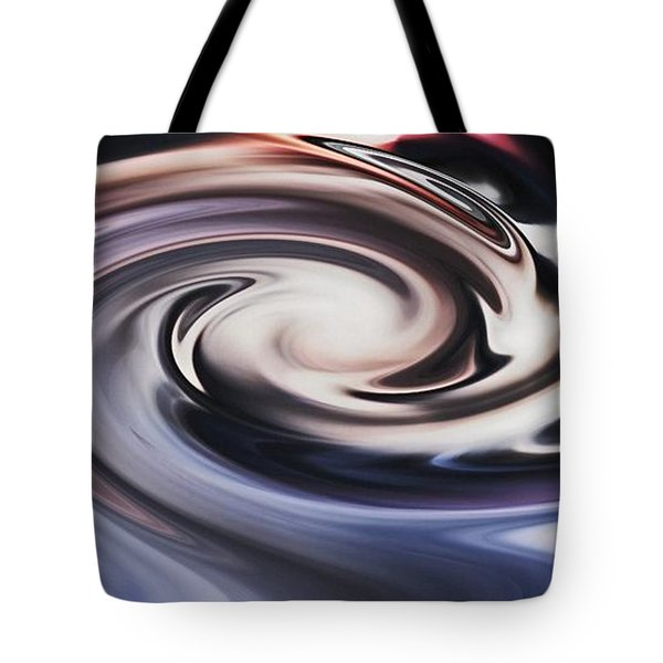 Tote Bag featuring the digital art No Escape From The Black Hole by rd Erickson