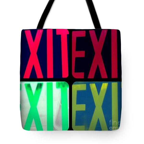 No Exit Tote Bag