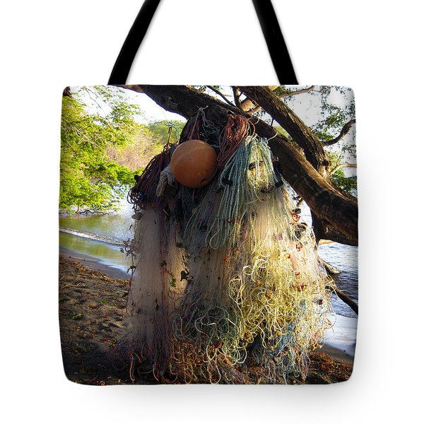 No Fishing Today Ometepe Island Nicaragua Tote Bag by Kurt Van Wagner