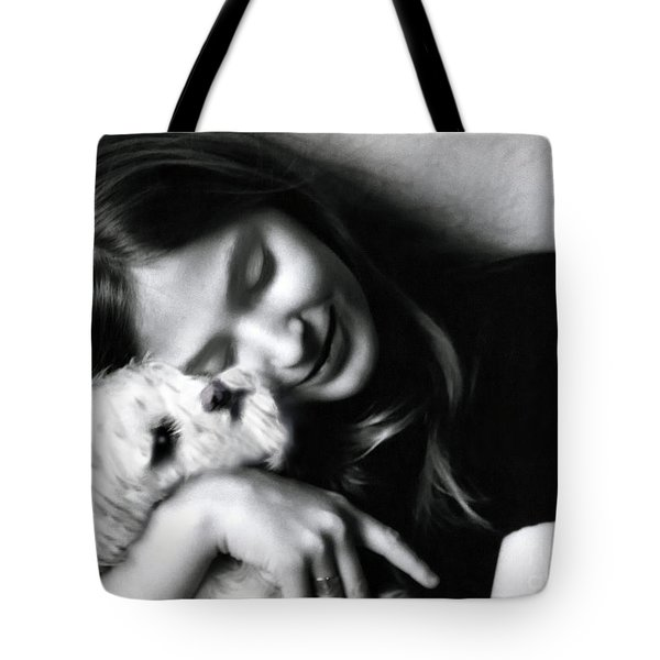 No Greater Love Tote Bag by Madeline Ellis