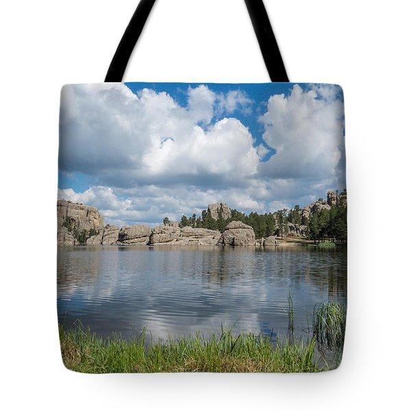 Sylvan Lake South Dakota Tote Bag