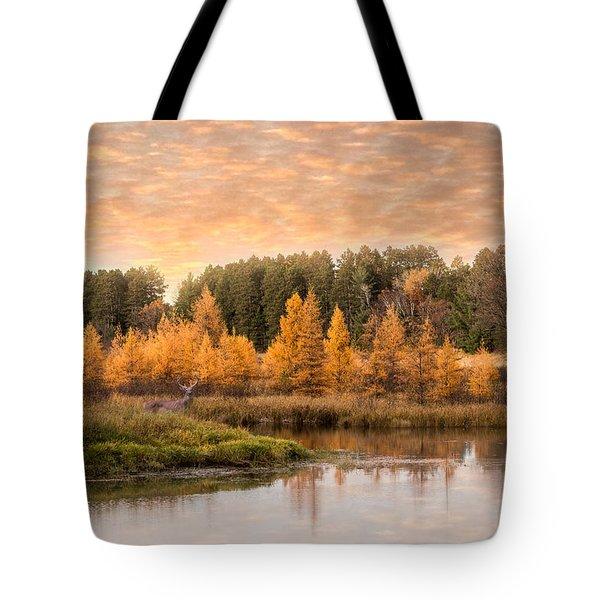 Tamarack Buck Tote Bag