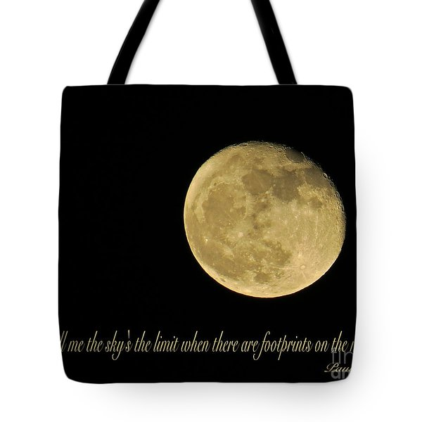 No Limit  Tote Bag by Nancy Patterson