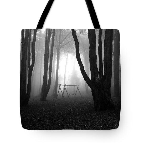 No Man's Land Tote Bag by Jorge Maia