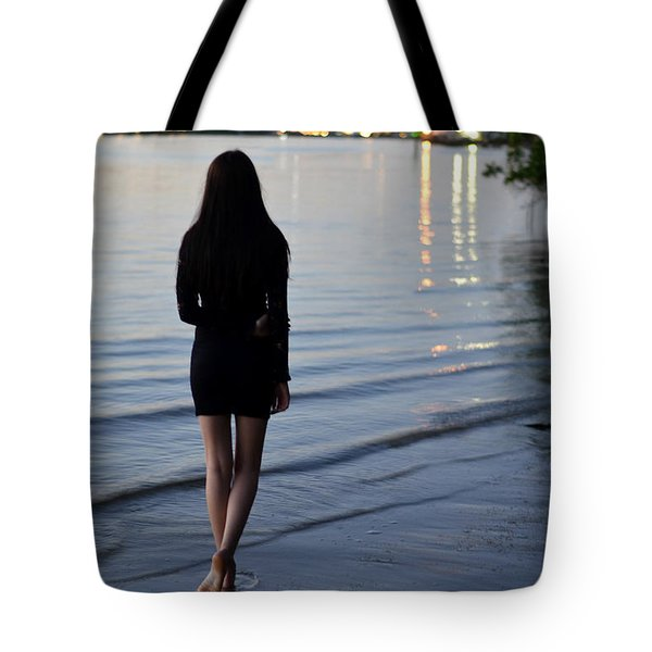 No Man's Land Tote Bag by Laura Fasulo