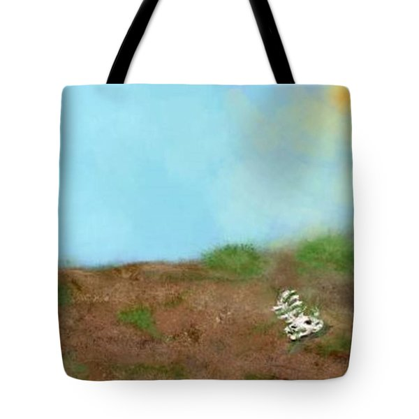 No Man's Land Tote Bag by Renee Michelle Wenker