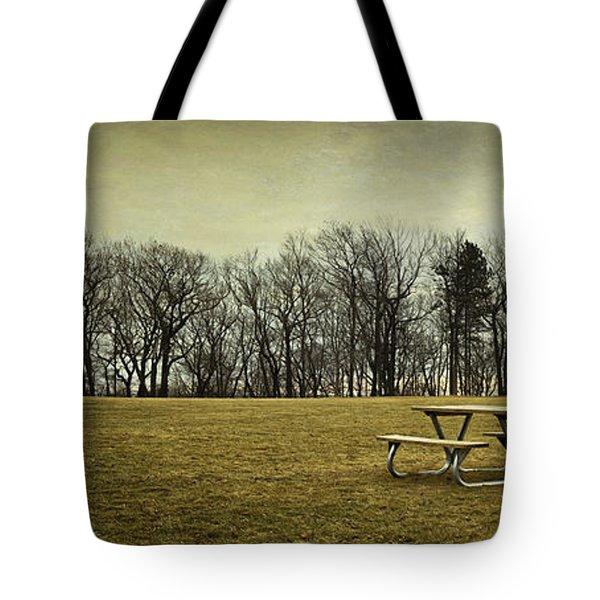 No More Picnics Tote Bag