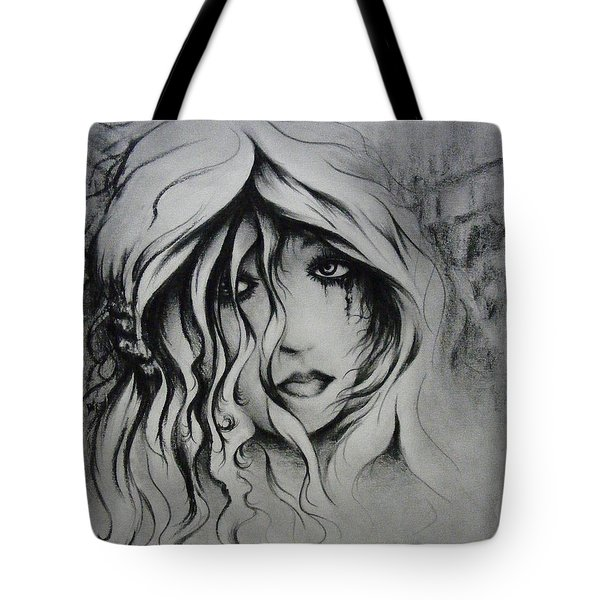 No More Tears Tote Bag by Rachel Christine Nowicki