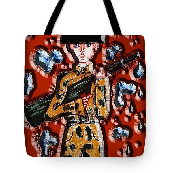 No More War Tote Bag by Patrick J Murphy