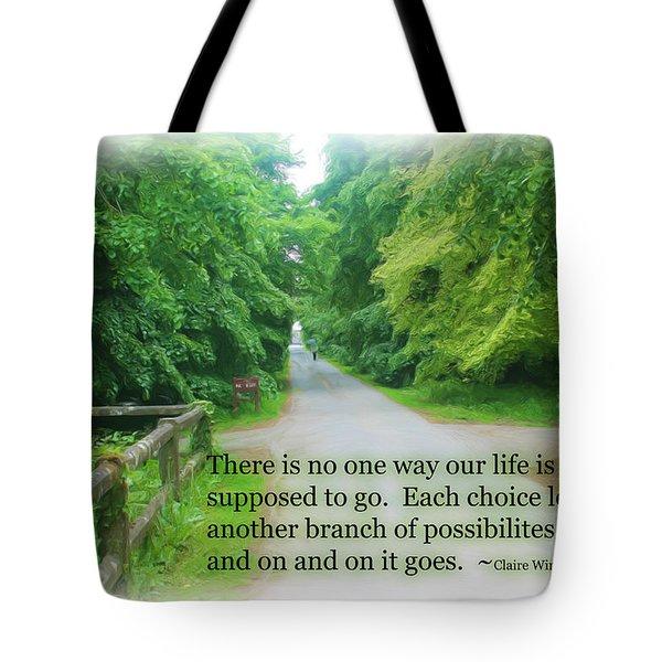 No One Way Tote Bag