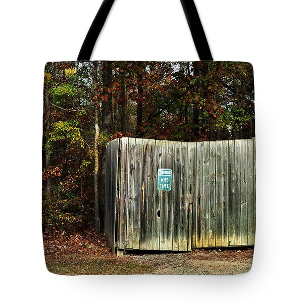 No Parking Tote Bag by Paulette B Wright