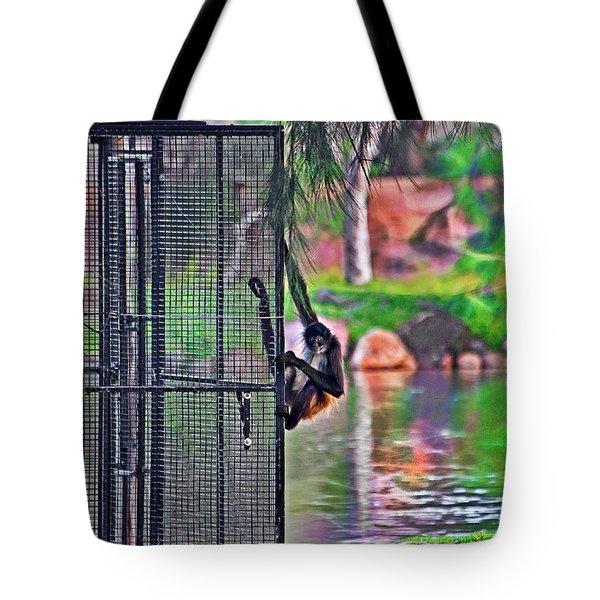 No Prison For Me  Tote Bag by Miroslava Jurcik