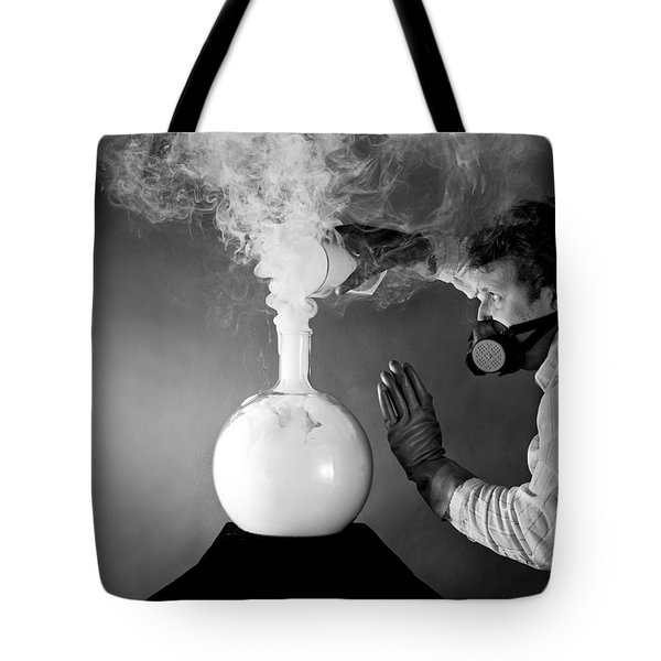 No Smoking Tote Bag by Martin Konopacki