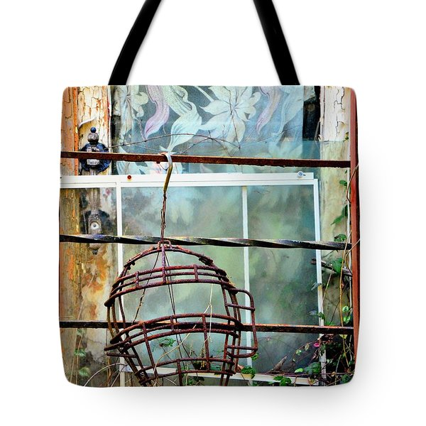 No Telling Tote Bag by Newel Hunter