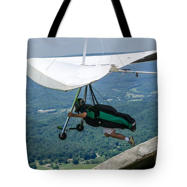 Tote Bag featuring the photograph No Turning Back by Susan  McMenamin