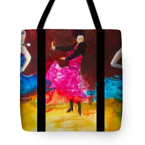 No Volre  Triptych Tote Bag
