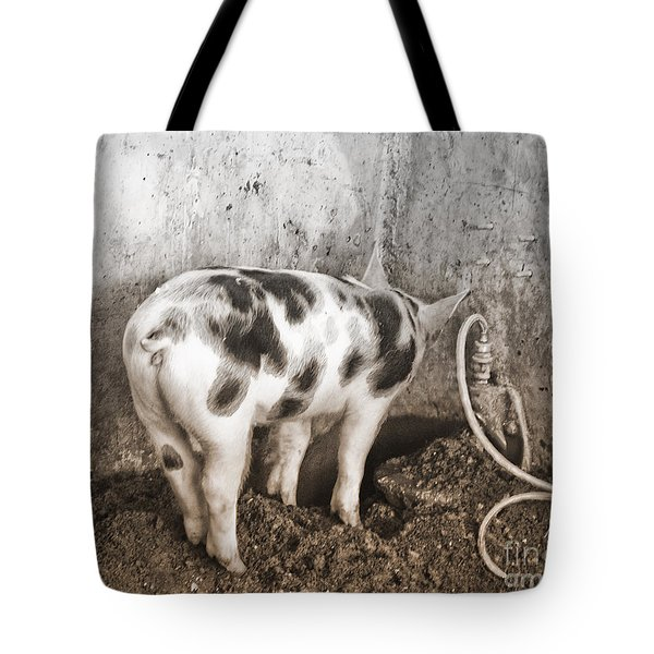 Tote Bag featuring the photograph No Way Out by Sandi Mikuse