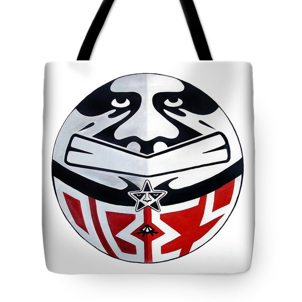 No You Obey Tote Bag by Ray Arcadio