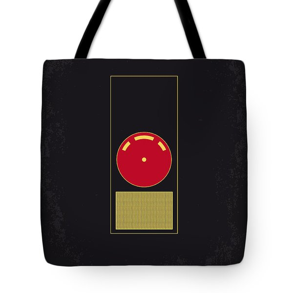 No003 My 2001 A Space Odyssey 2000 Minimal Movie Poster Tote Bag
