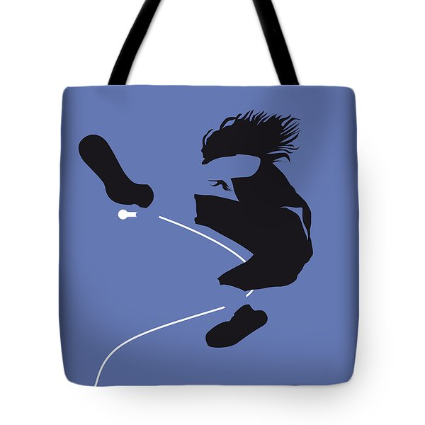 No008 My Pearl Jam Minimal Music Poster Tote Bag by Chungkong Art