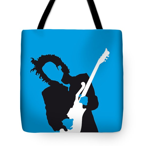 No009 My Prince Minimal Music Poster Tote Bag by Chungkong Art