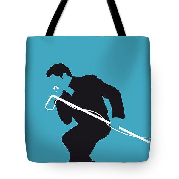 No018 My James Brown Minimal Music Poster Tote Bag