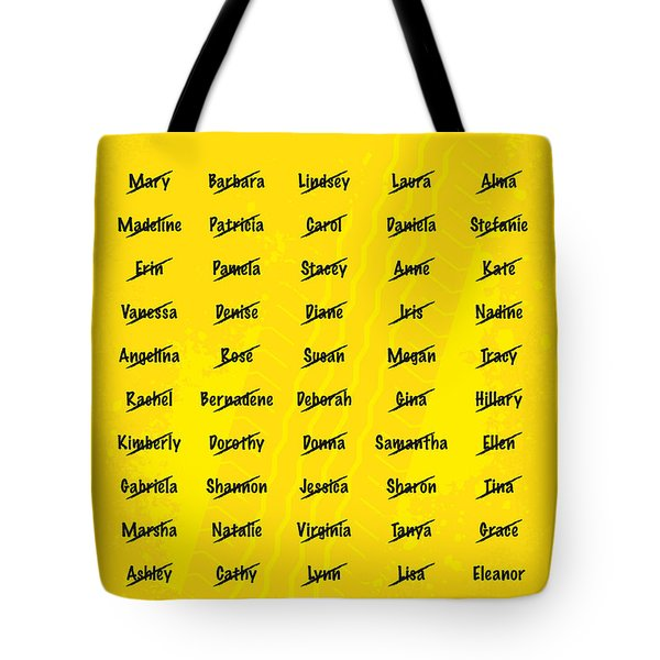 No032 My Gone In 60 Seconds Minimal Movie Poster Tote Bag by Chungkong Art