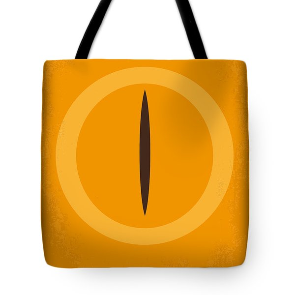 No039 My Lord Of The Rings Minimal Movie Poster Tote Bag by Chungkong Art