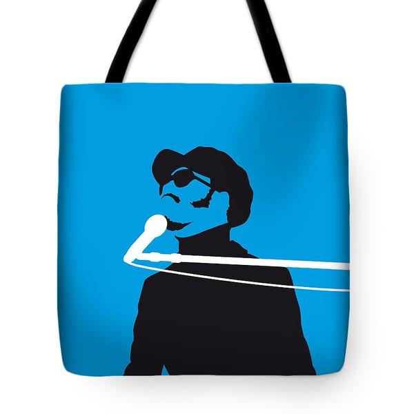 No039 My Stevie Wonder Minimal Music Poster Tote Bag